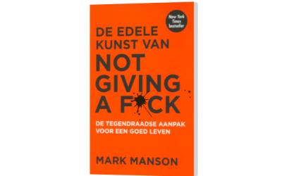 Boekentip: De edele kunst van not giving a f*ck